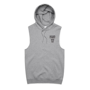 LIMITED TIME ONLY | SLEEVELESS HOODIE - Hoopsforchrist