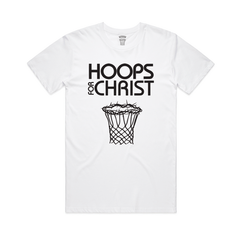 HOOPS FOR CHRIST SIGNATURE TEE - Hoopsforchrist