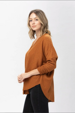 Willow Waffle-knit Top