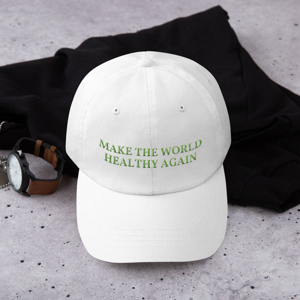 "Base Cap ""MAKE THE WORLD HEALTHY AGAIN"""