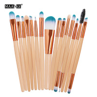 Pro 15 Stücke Make-Up Pinsel Set Lidschatten Foundation Puder Eyeliner Wimpern Lippe Make-Up Pinsel Kosmetik Schönheit Tool Kit Hot