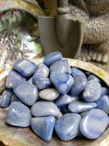 Blue Quartz Tumbled Stone