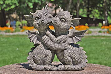 Dragons Den Garden Dragon Couple