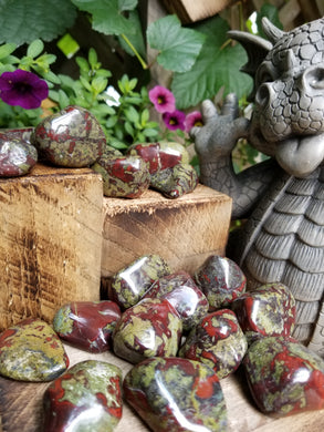 Dragons Blood Jasper Stone Tumbled