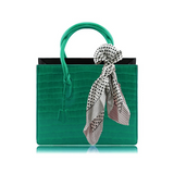 Faux Leather Handbag - Amoi London