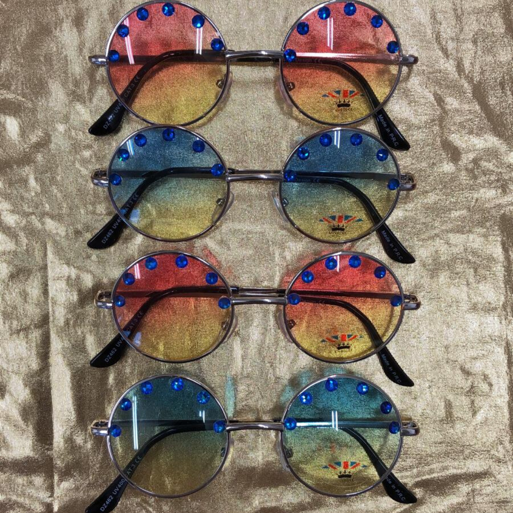 J  Lennon Sunnies with Swarovski Crystals