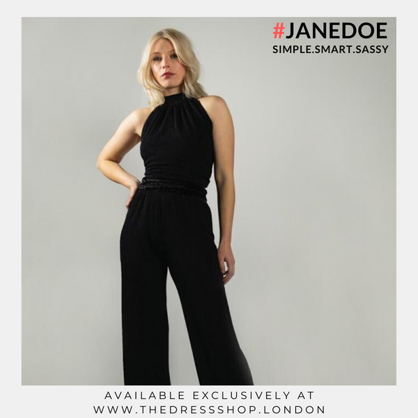 Black Jump Suit - #JANEDOE