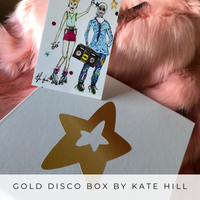 Gold Disco Box - Kate Hill