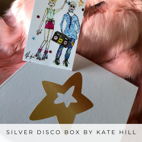 Silver Disco Box - Kate Hill