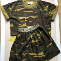 Girls Camo Set - ISCREAM