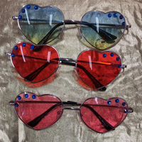 Heart Sunnies with Swarovski Crystals - ISCREAM