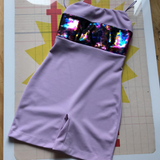 Violet Disco Boom Unitard - Kate Hill