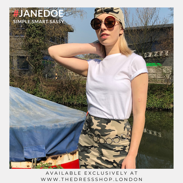 Camouflage Mini Skirt - #JANEDOE