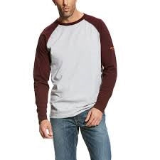 Ariat Flame Resistant Baseball Tee-Shirt
