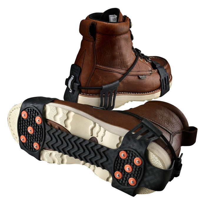 Trex 6310 Adjustable Ice Traction Device on boots
