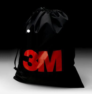 3M™ Reusable Nylon Respirator Storage Bag - Black