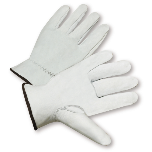 Premium Grain Goatskin Drivers Gloves