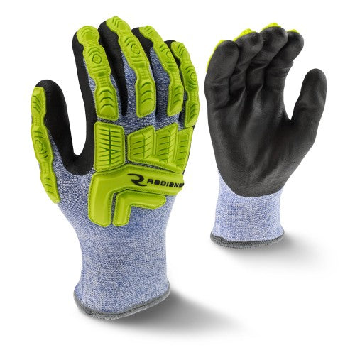 RWG604 CUT PROTECTION LEVEL A4 COLD WEATHER COATED GLOVE