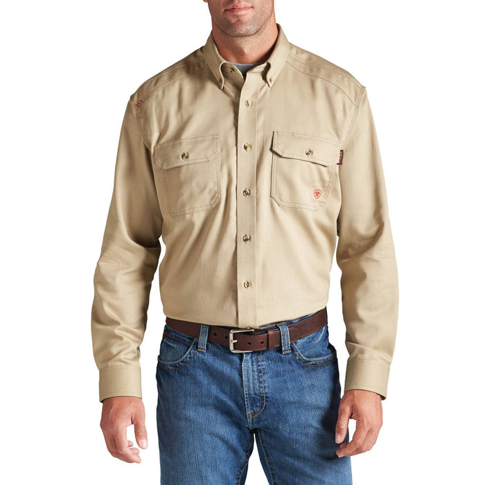 Ariat Flame-Resistant Work Shirts, Flame resistant shirt, fr work clothes, fr shirt, flame resistant long sleeved shirt, flame resistant clothes, fr long sleeve