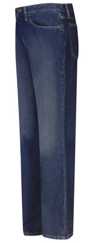 EXCEL FR® Pre-Washed Denim Dungaree