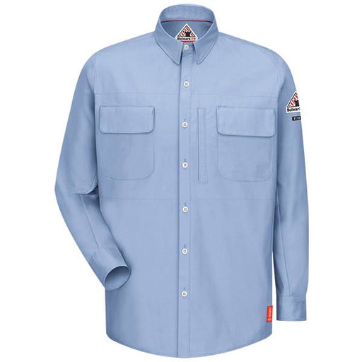 iQ Series® Long Sleeve Patch Pocketed Shirt