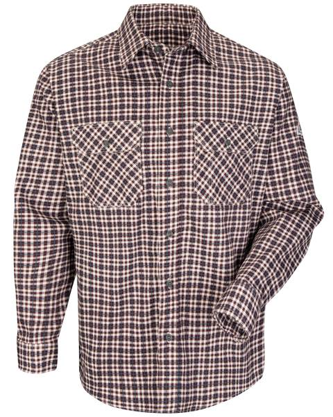 EXCEL FR® ComforTouch® Plaid Long Sleeve Shirts, FLAME RESISTANT SHIRT, FR WORK CLOTHES, DR SHIRT, FLAME RESISTANT LONG SLEEVED SHIRT, FLAME RESISTANT CLOTHES, FR LONG SLEEVE