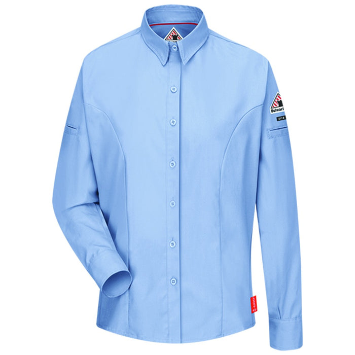 iQ Series® Women's Long Sleeve Shirt, women's fr clothing, women's frc clothing, women's frc, ladies fr clothing, flame resistant shirt, fr work clothes, fr shirt, flame resistant long sleeved shirt, flame resistant clothes, fr long sleeve