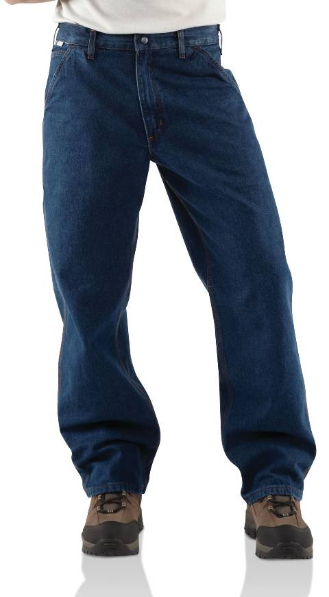 Men's Flame-Resistant Denim Dungarees
