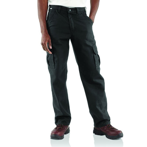 Men's FR Canvas Cargo Pants - Black