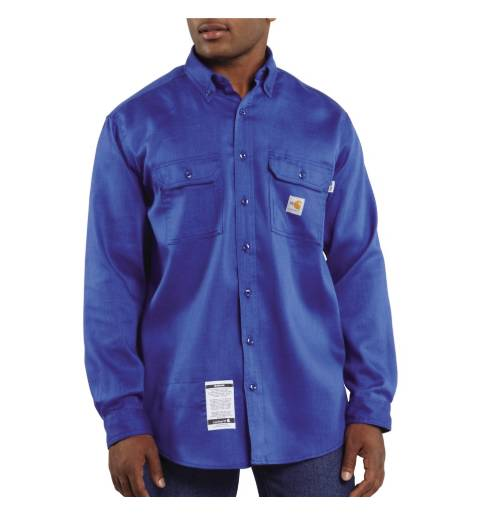 Men's Work-Dry Lightweight Twill Shirt, FLAME RESISTANT SHIRT, FR WORK CLOTHES, FR SHIRT, FLAME RESISTANT LONG SLEEVED SHIRT, FLAME RESISTANT CLOTHES, FR LONG SLEEVE