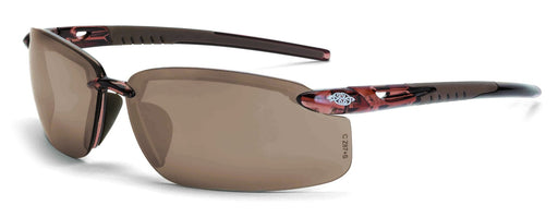 ES5 Safety Glasses, crystal brown