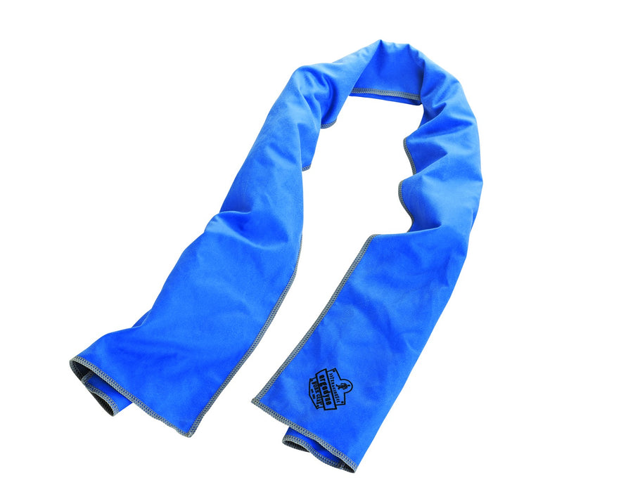 Blue Chill-Its® 6602MF Evaporative Microfiber Cooling Towels