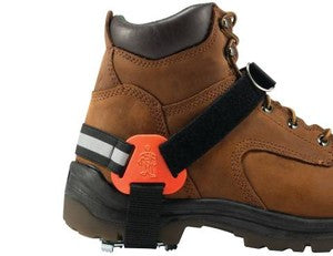TREX™ 6315 Strap-On Heel Ice Traction Devices - on boots