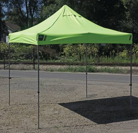 SHAX® 6000 Heavy-Duty Commercial Tent, heat stress