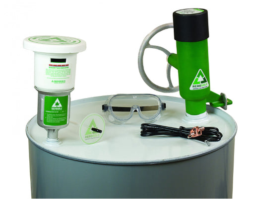 Aerosolv® 360 System For Recycling Aerosol Cans