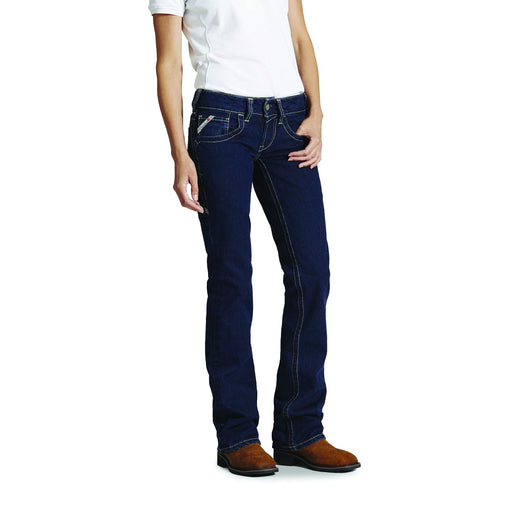 Women's FR Mid-Rise Boot Cut Jeans