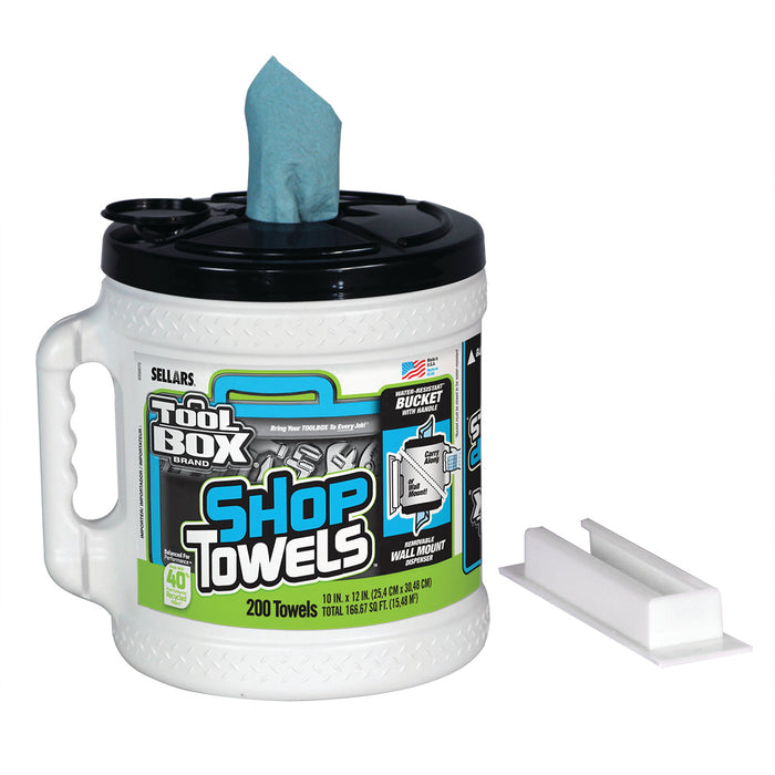 Sellars TOOLBOX® Z400 BIG GRIP® Bucket Shop Towels
