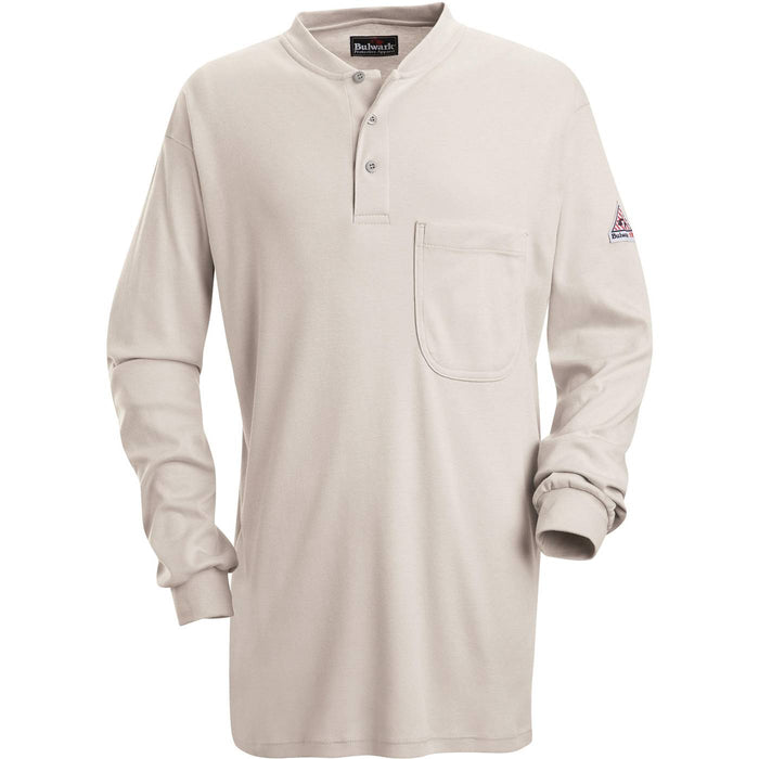 Flame-Resistant EXCEL FR® Long Sleeve Henley Shirts, henley, henley long sleeve, flame resistant shirt, fr work clothes, fr shirt, flame resistant long sleeve shirt, flame resistant clothes, fr long sleeve, fr henley