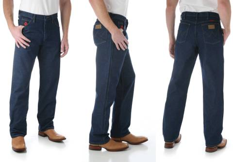 Flame-Resistant Relaxed Fit Jeans