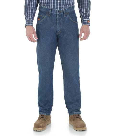Wrangler RIGGS WORKWEAR® Flame-Resistant Relaxed Fit Jeans