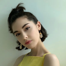 Load image into Gallery viewer, Naomi Pineapple Drop Earrings - Twice Shy