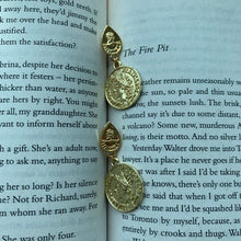 Load image into Gallery viewer, Yasmeen Gold Coin Earrings - Twice Shy