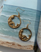 Load image into Gallery viewer, Cora Mermaid Drop Earrings - Twice Shy