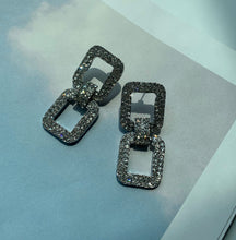 Load image into Gallery viewer, Gemma Chain Earrings - Twice Shy