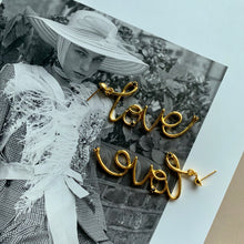 Load image into Gallery viewer, Annalise Love Earrings - Twice Shy