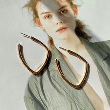Load image into Gallery viewer, Leona Modern Hoops - Twice Shy