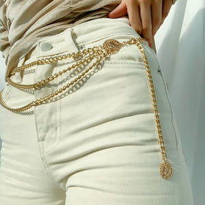 Portia Chained Belt - Twice Shy