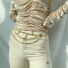 Load image into Gallery viewer, Portia Chained Belt - Twice Shy
