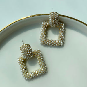 Willa Pearl Drop Earrings - Twice Shy