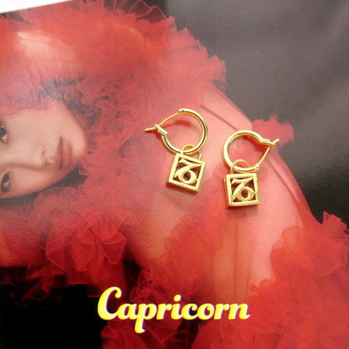 Lucky Stars Zodiac Earrings - Twice Shy